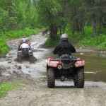 ATV riders in the vicinity of Swiftwater Creek
