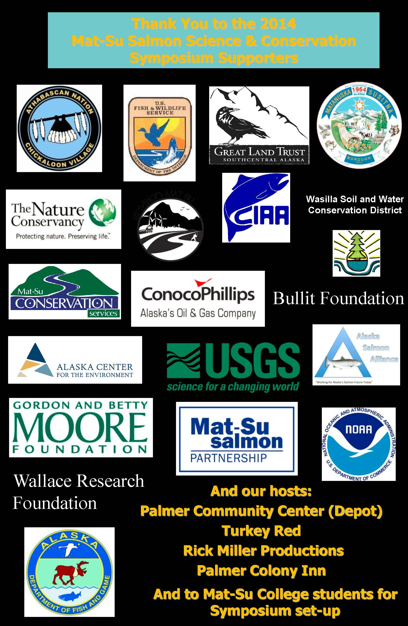 2014 Salmon Symposium Supporters